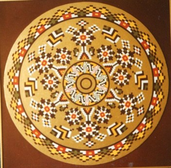 085 - Circle XIX Karvina Balcan popular art  [60x60]